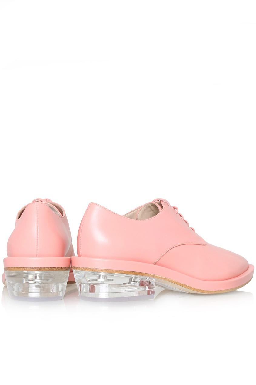 Кожаные ботинки от AIZEL