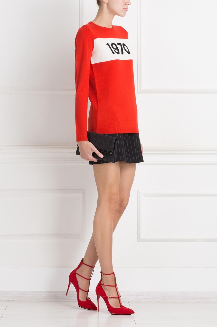 Bella Freud Шерстяная юбка