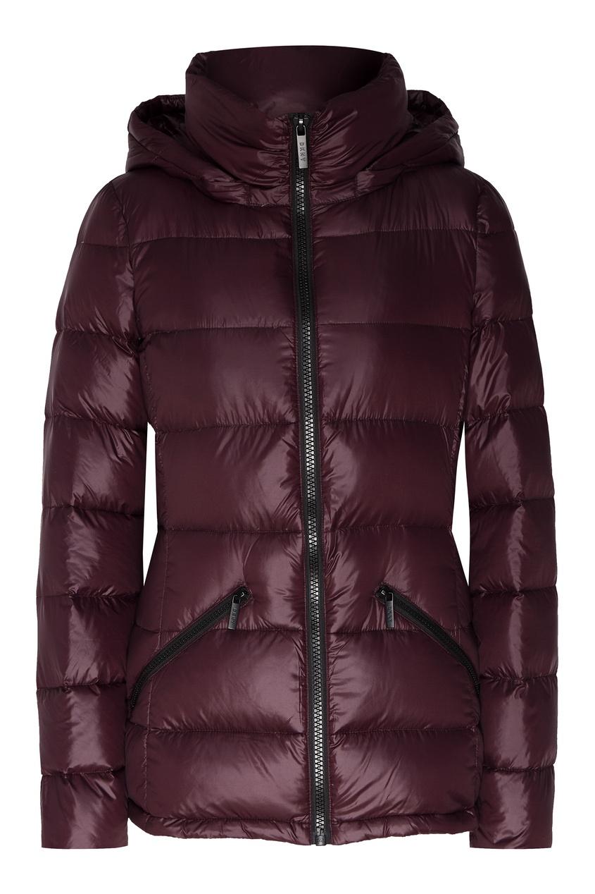 женская куртка dkny, фиолетовая