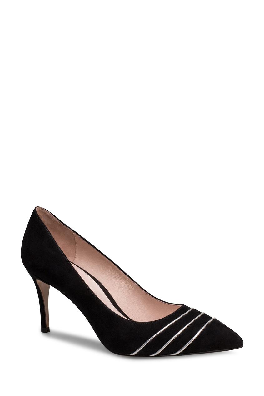 Фото 4 - Черные туфли с декором от Portal черного цвета