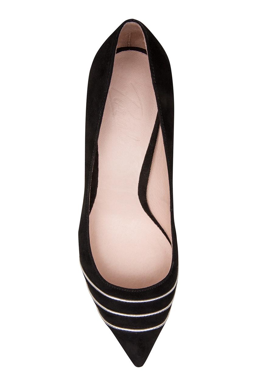 Фото 6 - Черные туфли с декором от Portal черного цвета