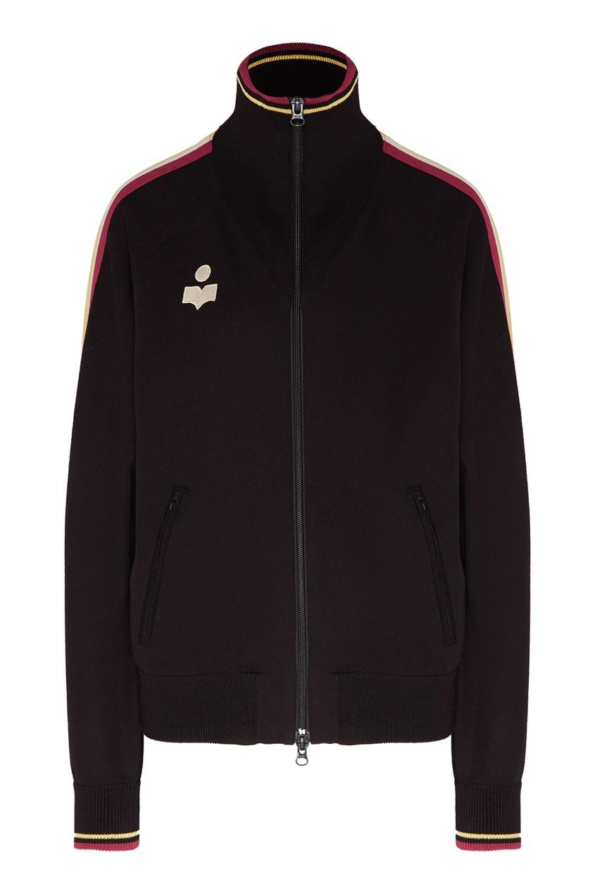 Спортивная куртка с яркими полосками