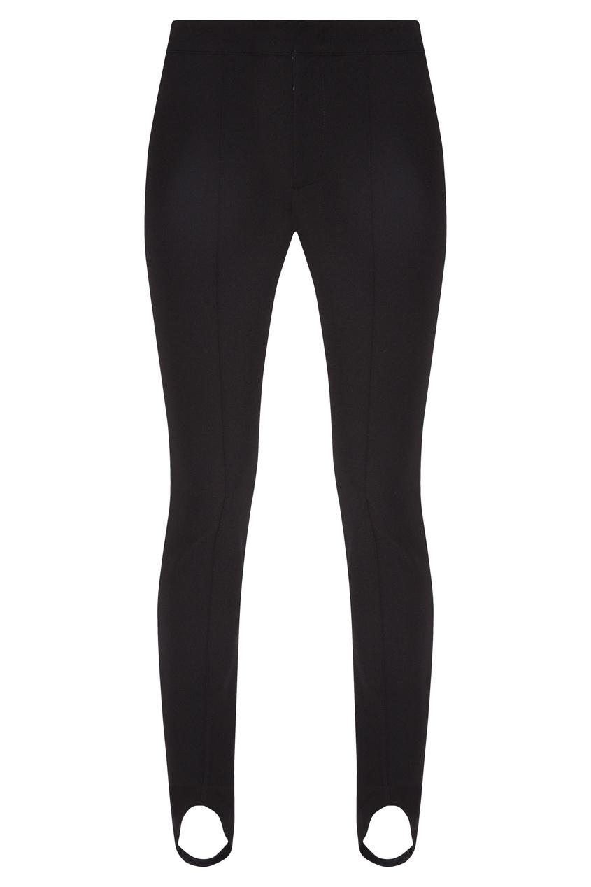 женские брюки moncler, черные