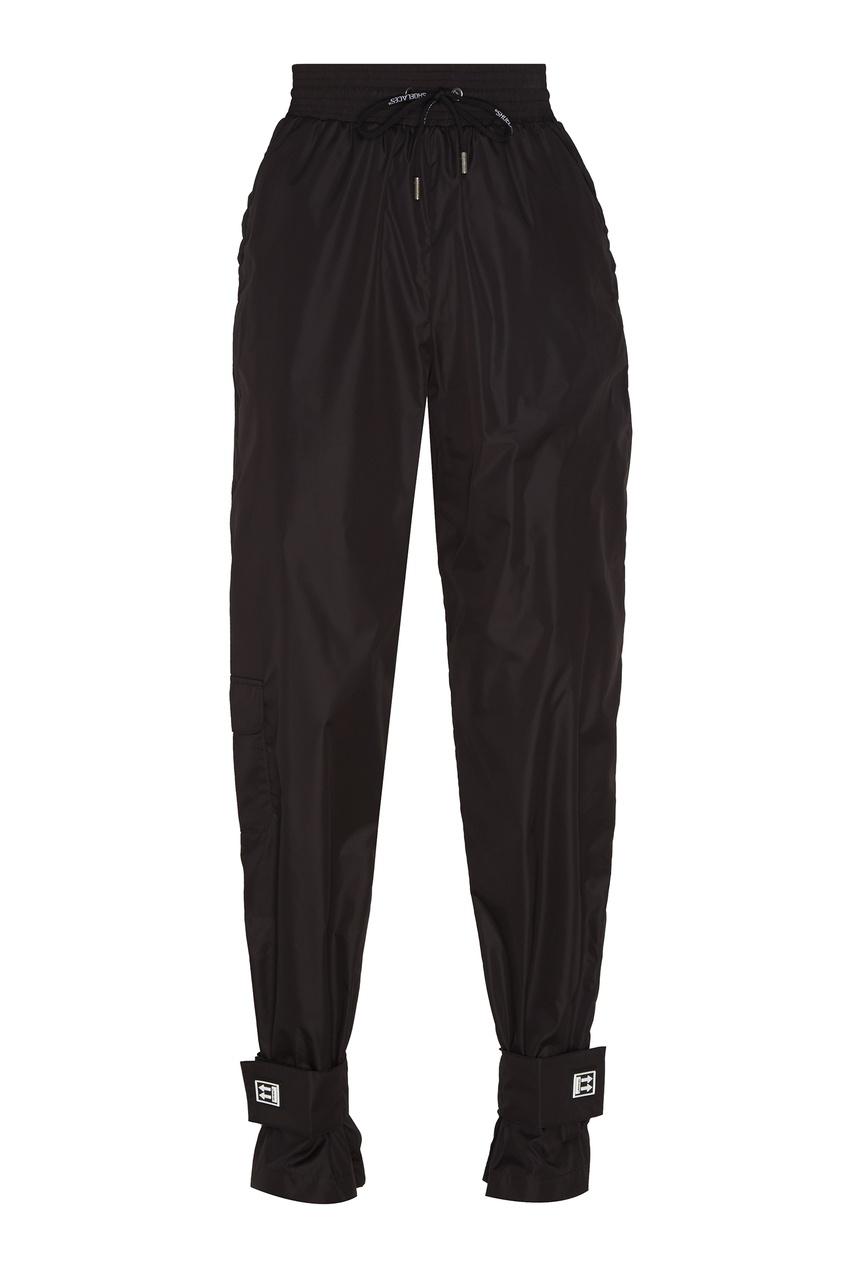 Черные брюки из технологичной ткани Off-White