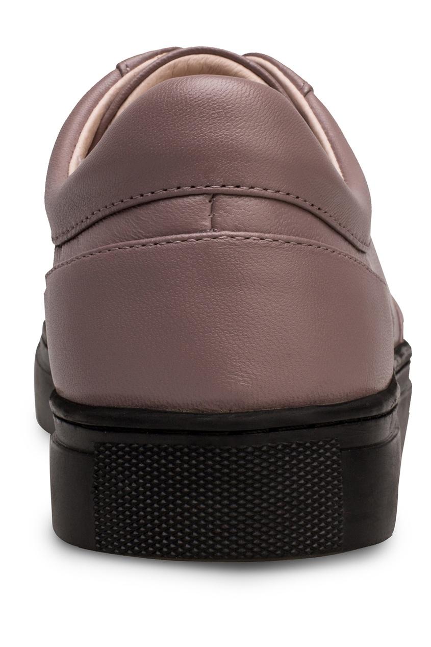 Фото 3 - Кеды коричневого цвета от Portal розового цвета