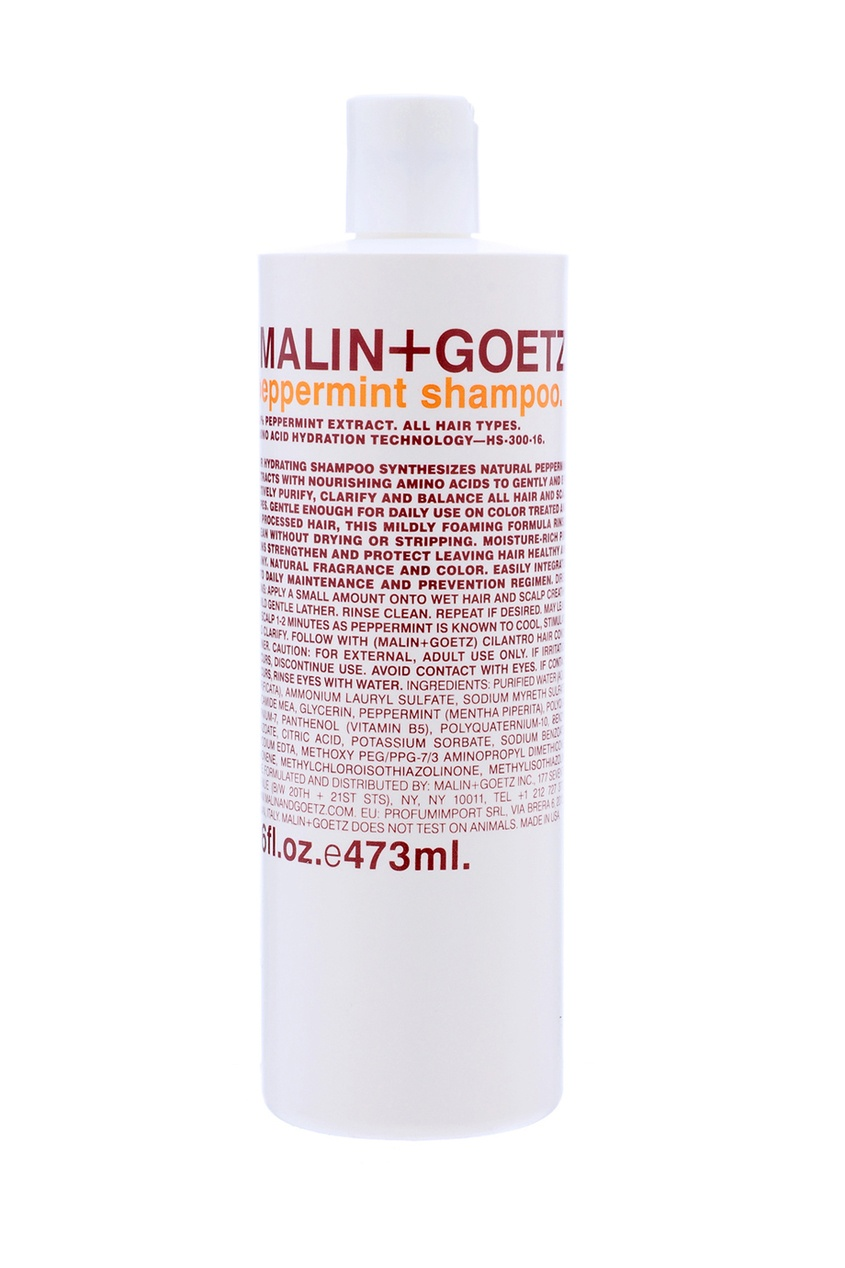 "Malin+Goetz Шампунь для волос Peppermint Shampoo ""Мята"" 473ml malin goetz гель для душа эвкалипт 473 мл"