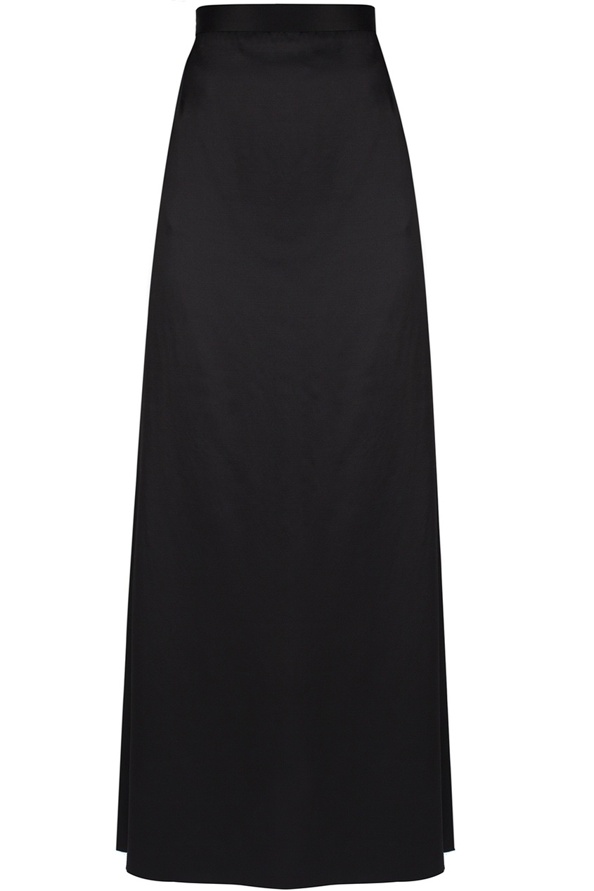 Атласная юбка в пол (90-е)