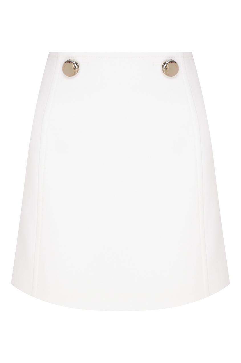 женская юбка prada, бежевая