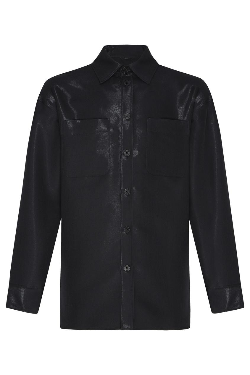 Черная рубашка от Fendi