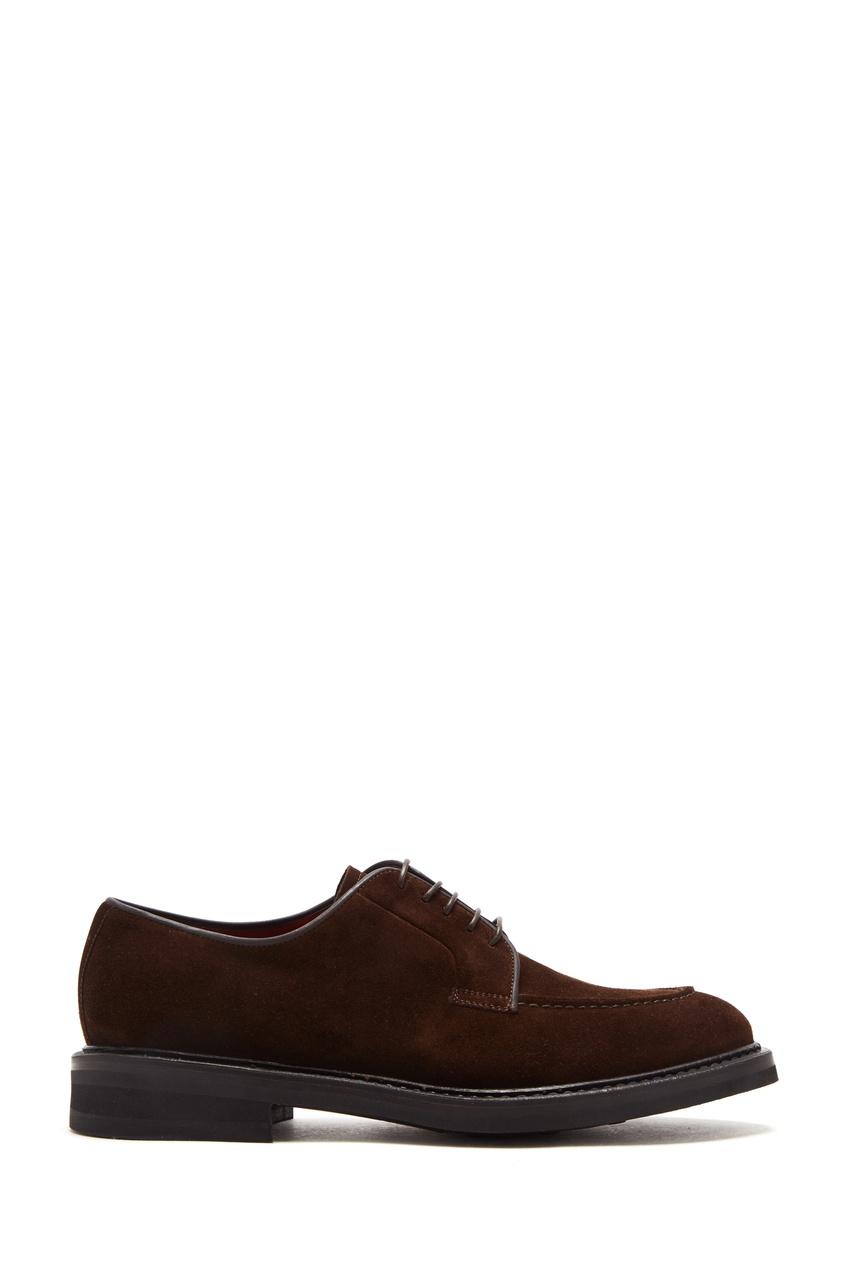 Замшевые туфли со шнуровкой Barrett