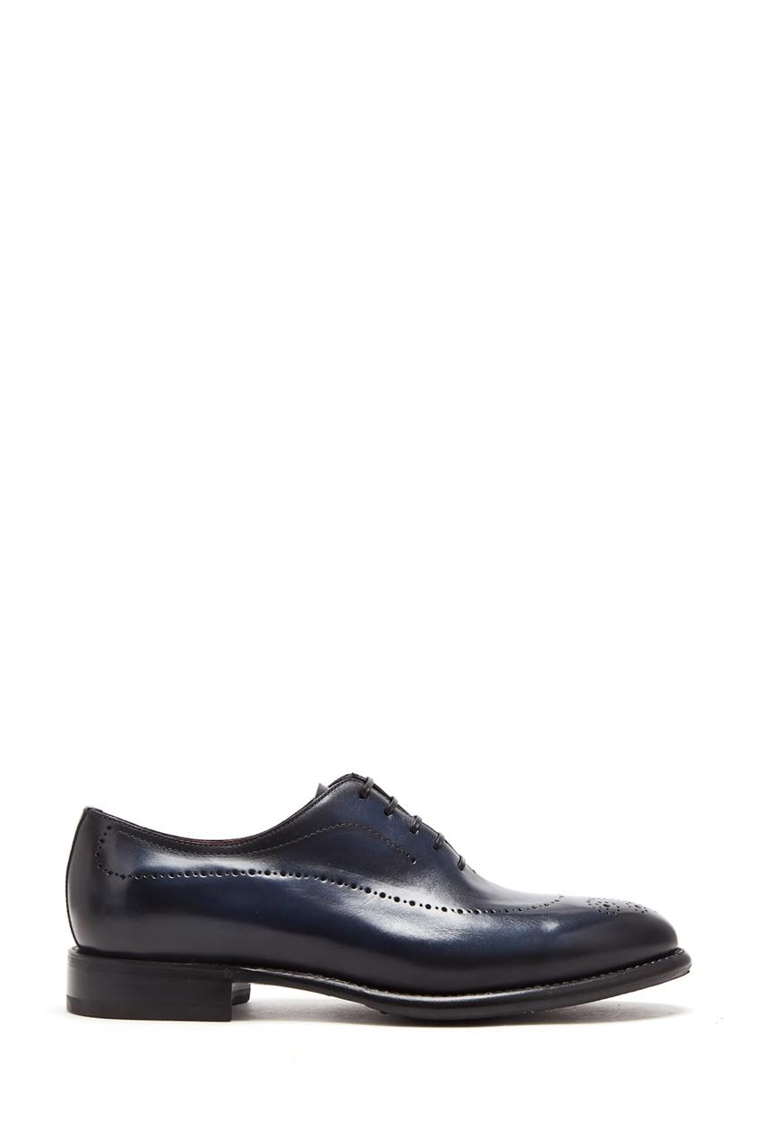 Синие туфли с перфорацией Barrett