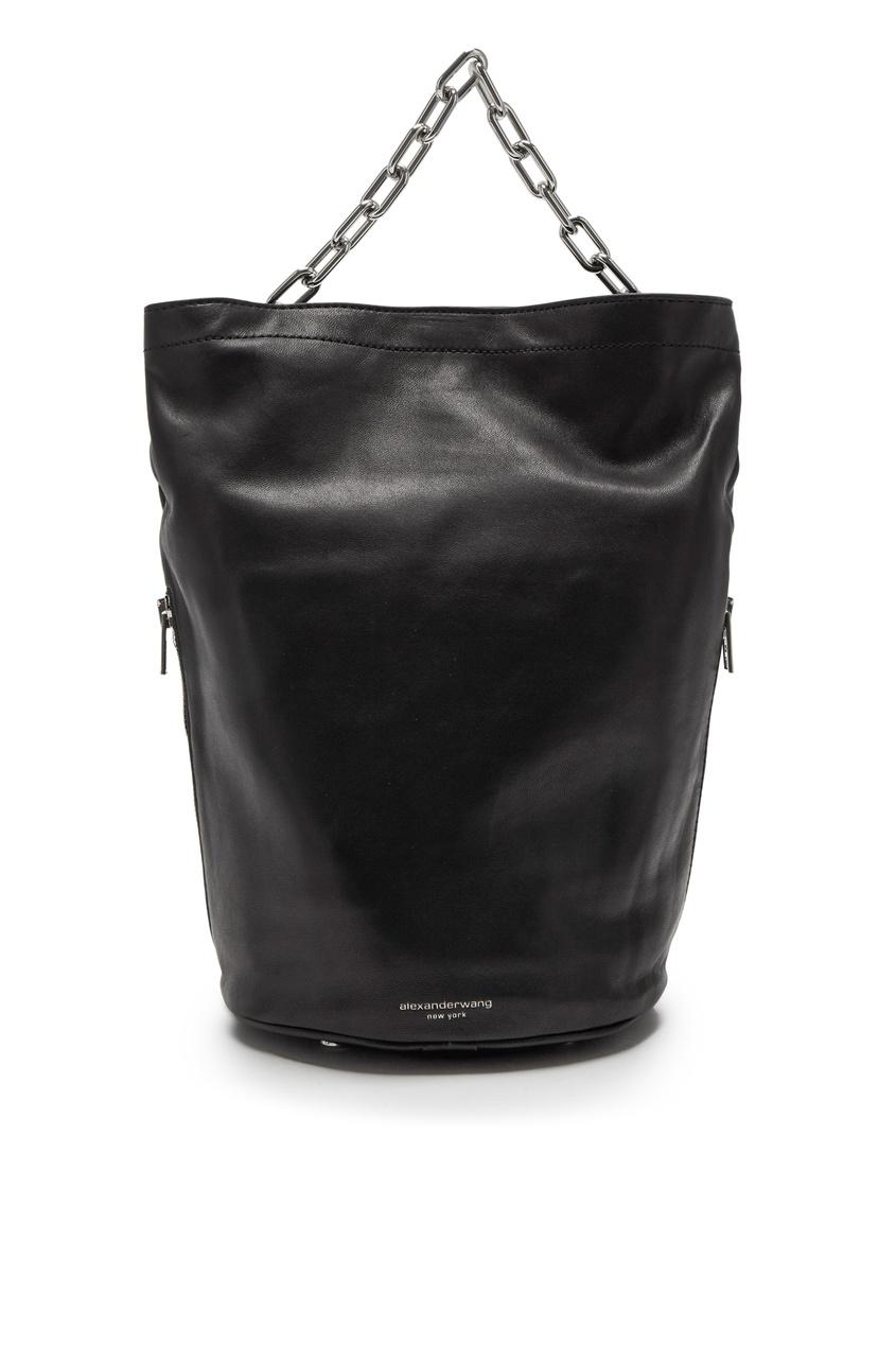 Черная сумка-ведро Attica Alexander Wang