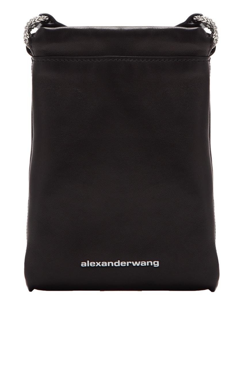 женский кошелёк alexander wang, черный