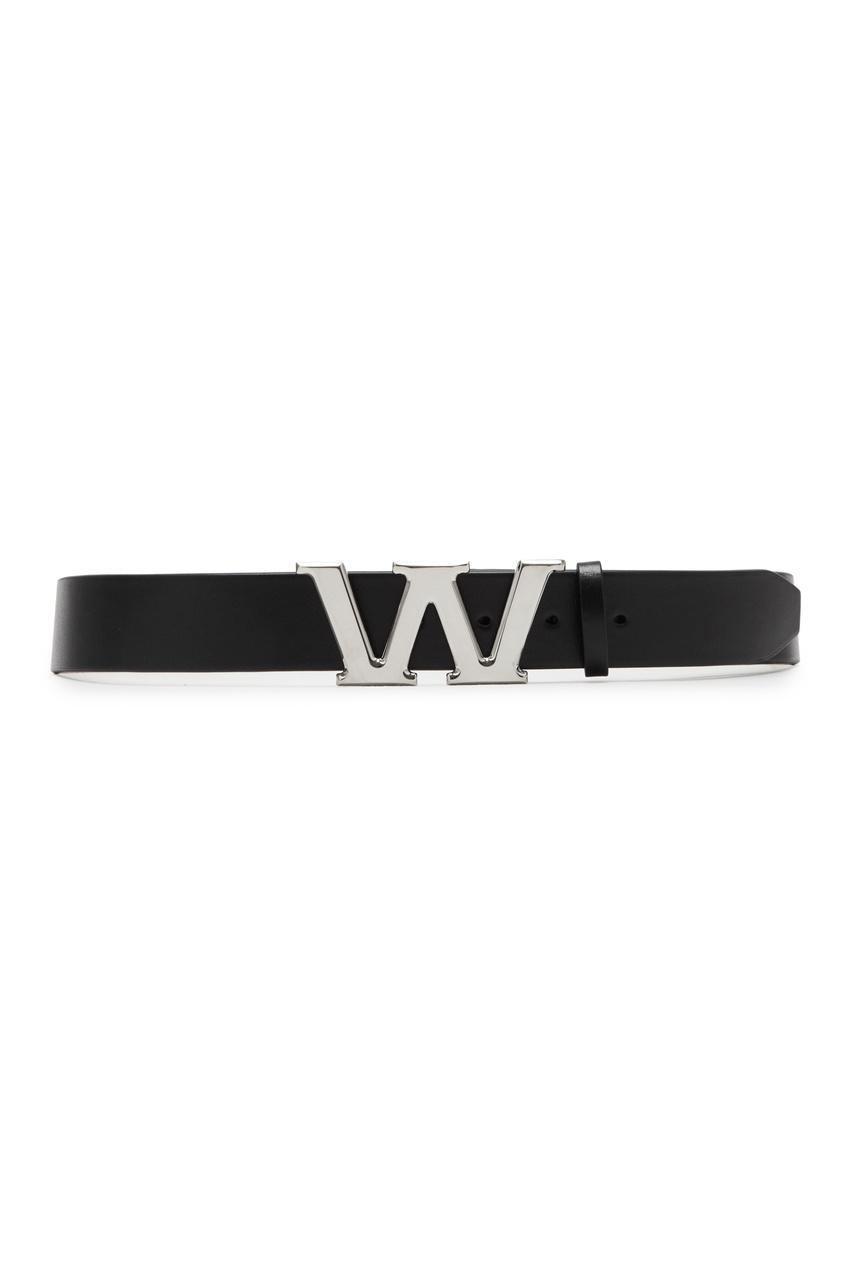 Ремень с пряжкой в виде буквы W Alexander Wang