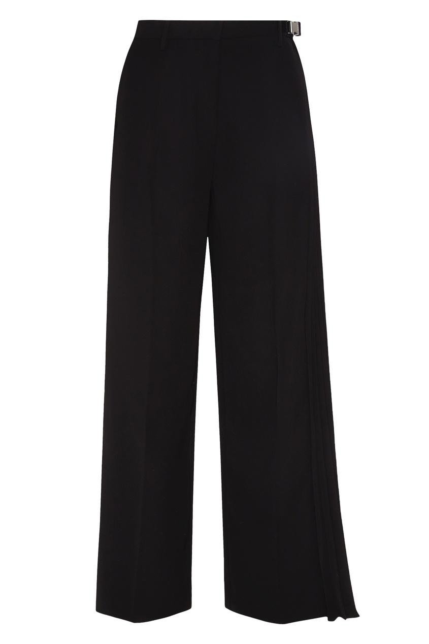женские брюки prada, черные