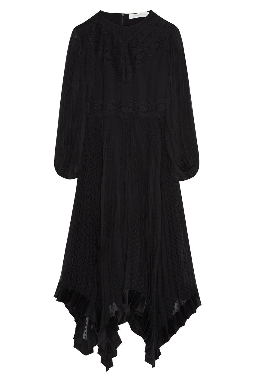 женское платье zimmermann, черное