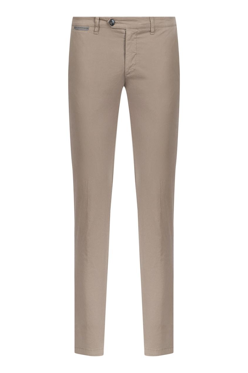 мужские брюки eleventy, бежевые