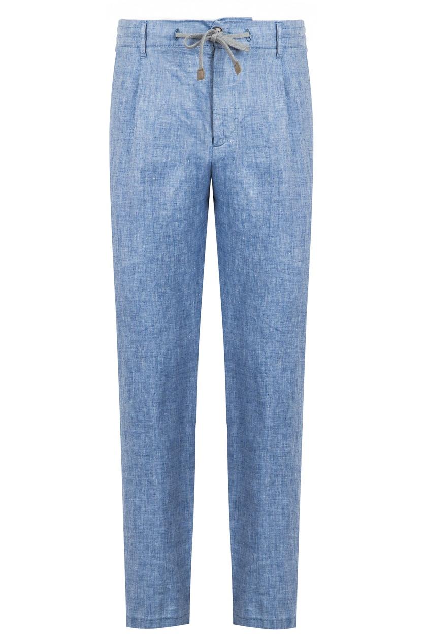 мужские брюки eleventy, голубые