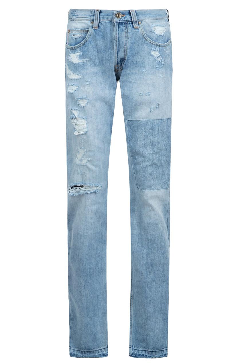 мужские джинсы eleventy, синие