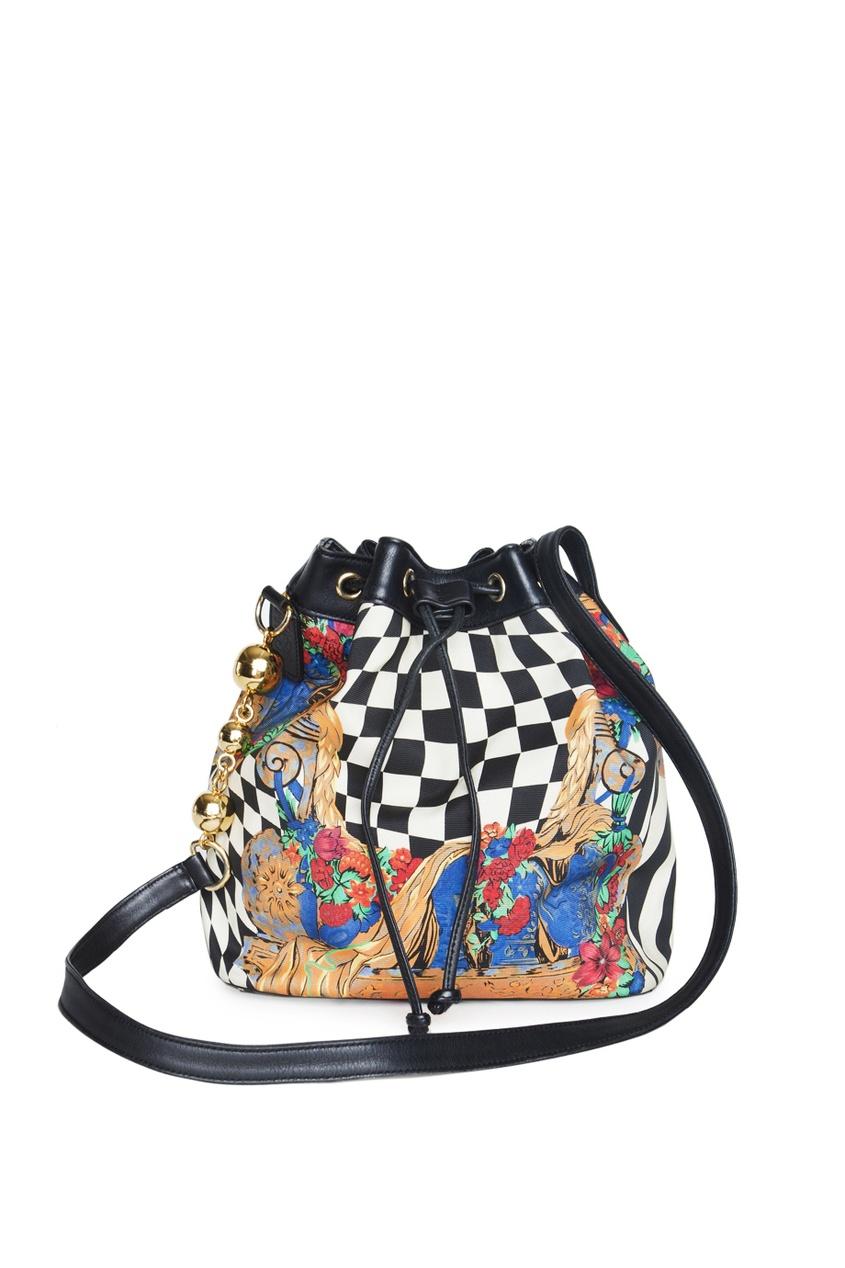 Gianni Versace Vintage Принтованная сумка (90-е гг.) запонки gianni tonelli 12 b 1077 20 e