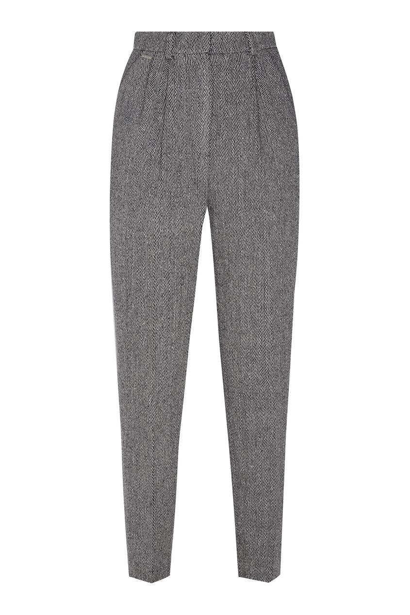 женские брюки laroom, серые