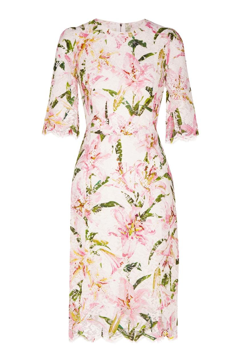 женское платье dolce & gabbana