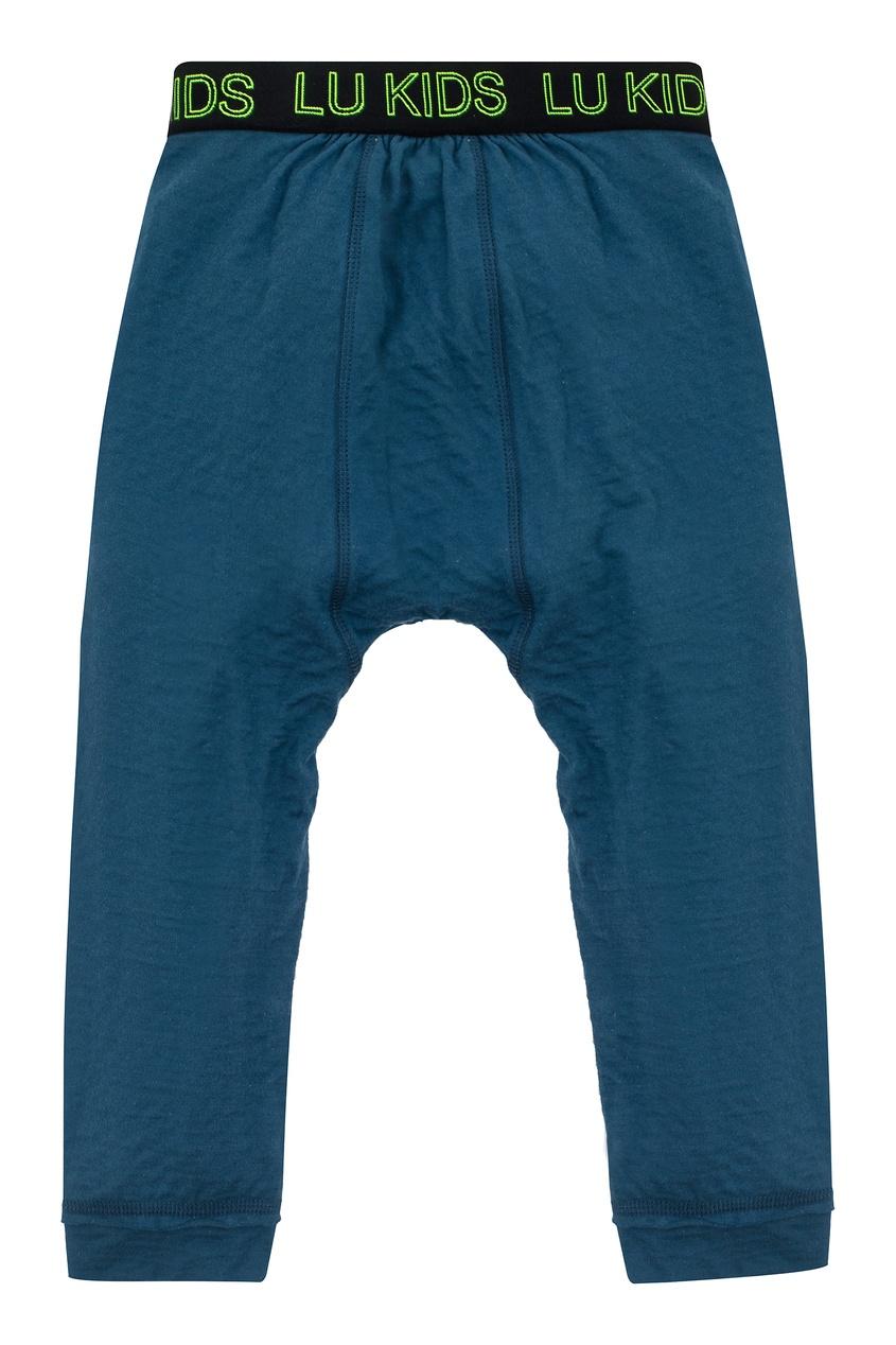 Синие спортивные брюки на мальчика от LU KIDS