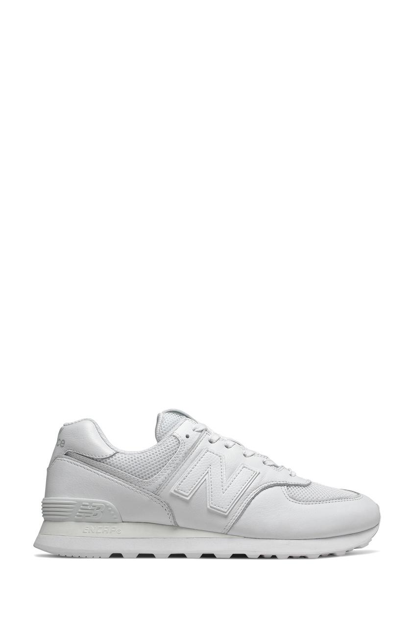 Кроссовки белого цвета 574 New balance
