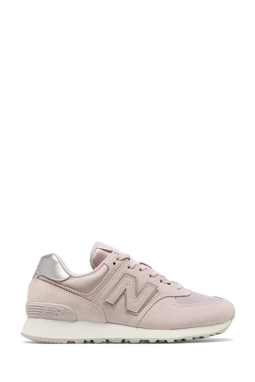 Кроссовки светло-розового цвета 574 New balance