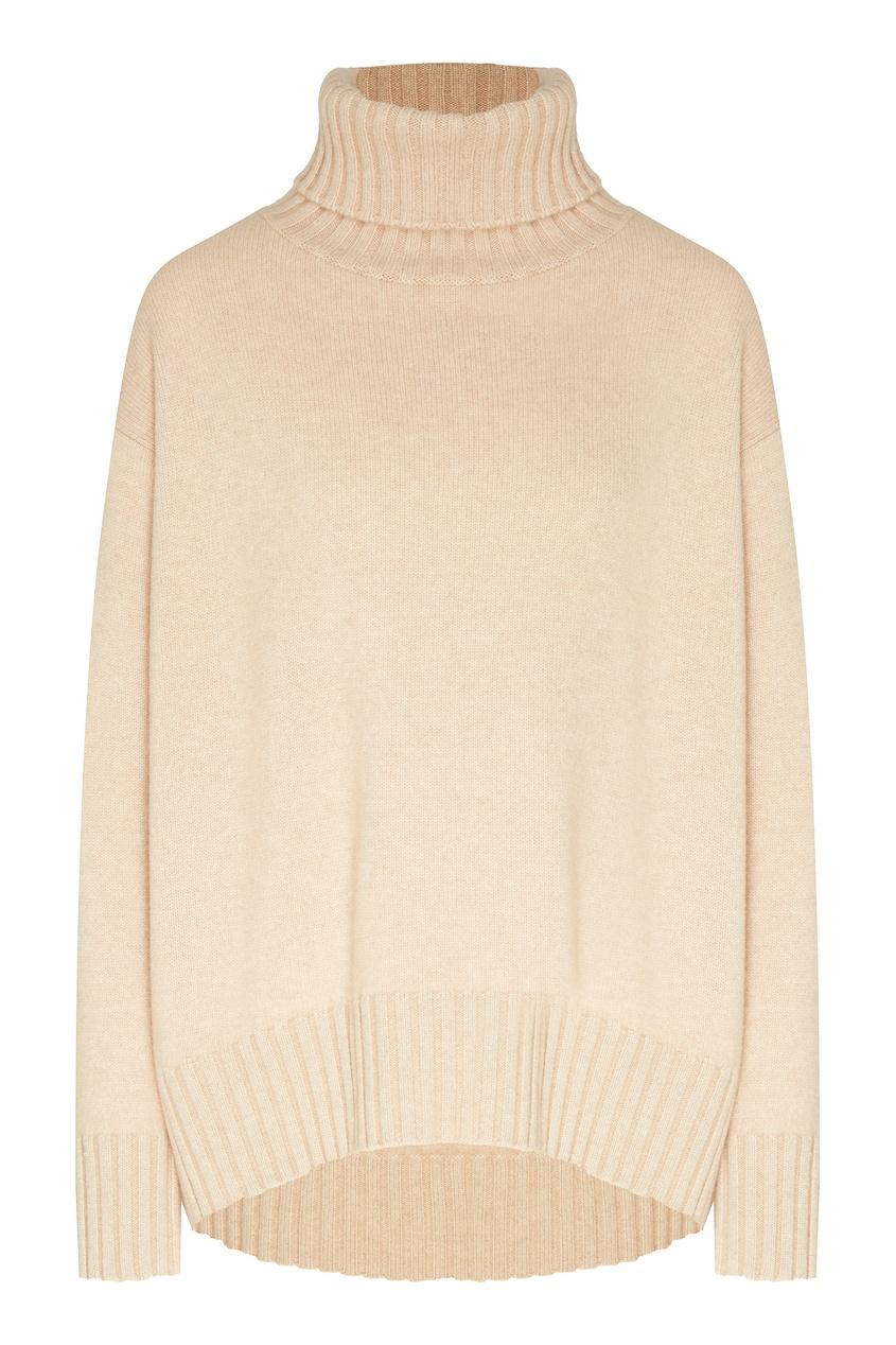 Бежевый свитер с рисунком от Yana Dress