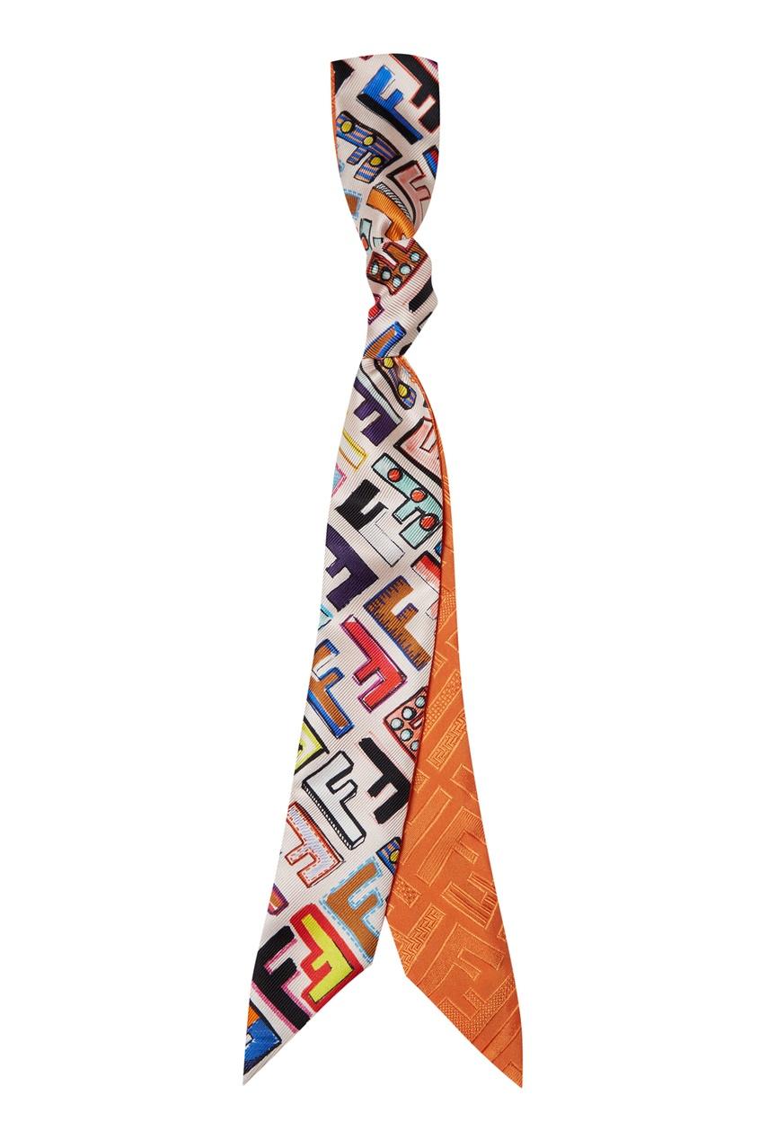 женский шарф fendi