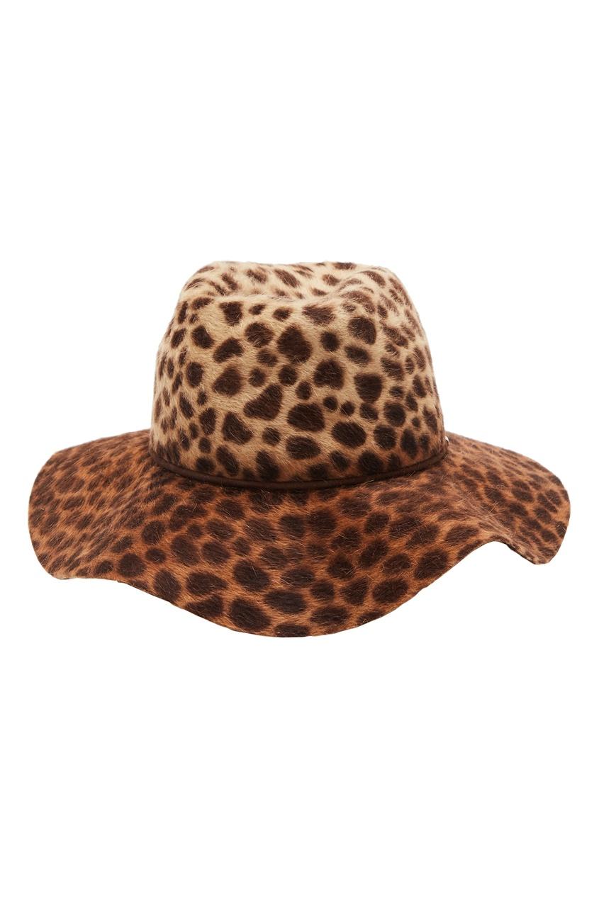 Шляпа с анималистическим принтом Yana Dress