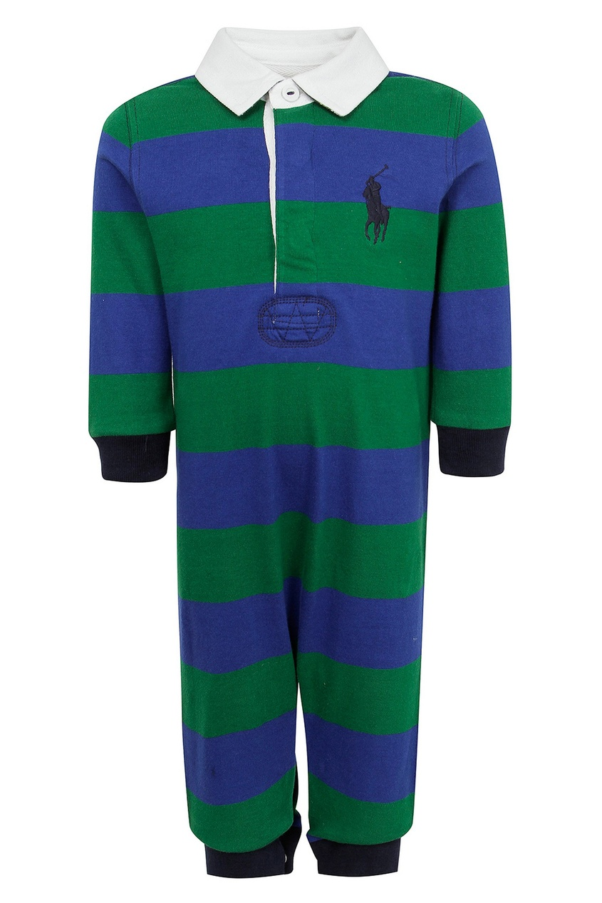Сине-зеленый комбинезон Ralph Lauren Kids