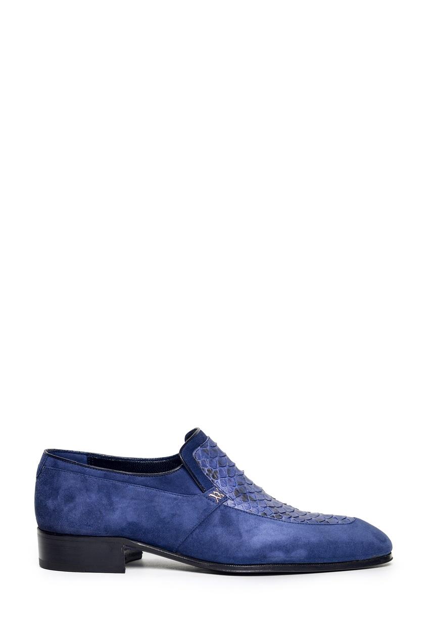 мужские лоферы artioli, синие