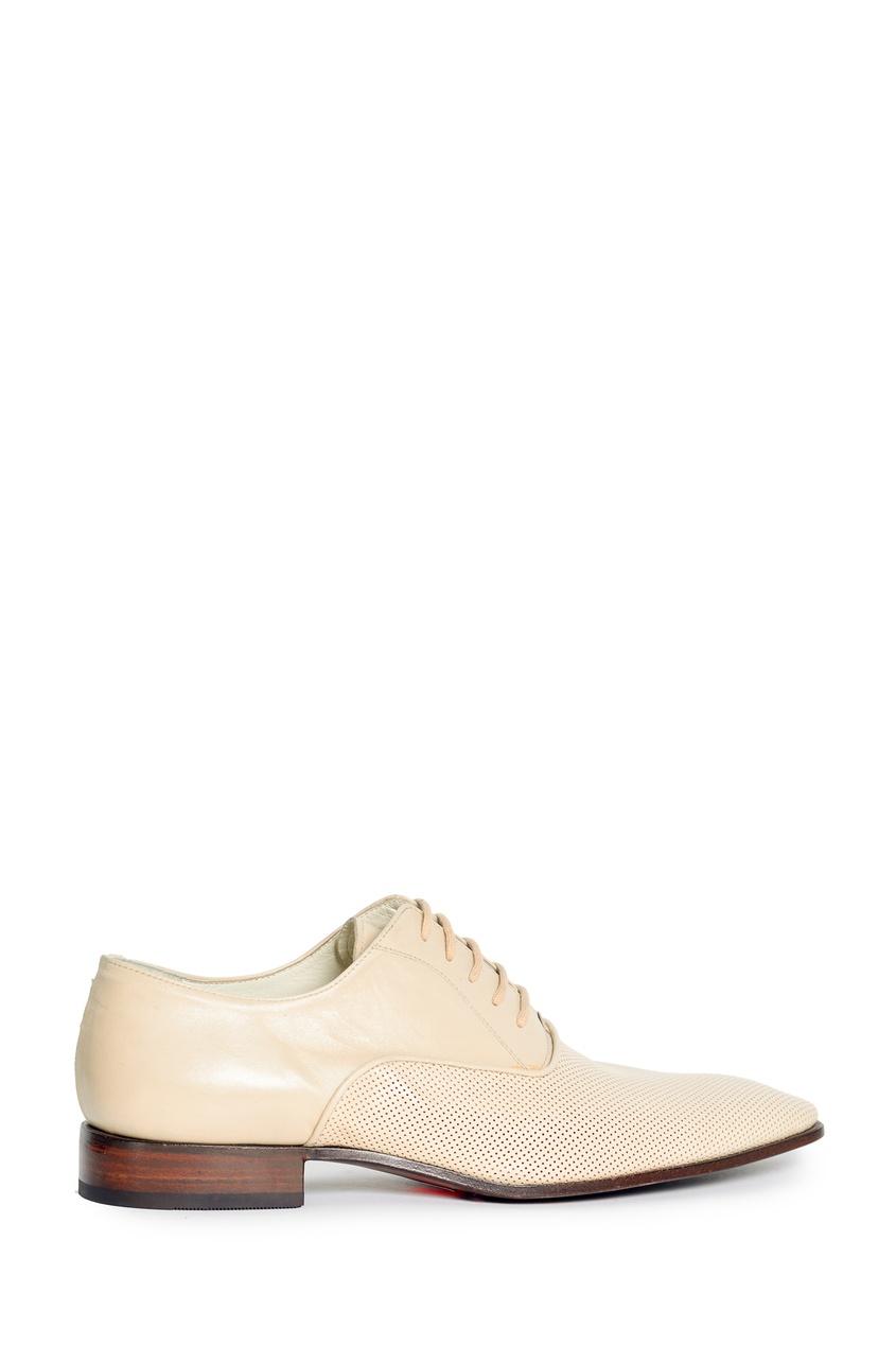 Бежевые туфли с перфорацией Artioli 1674152423 бежевый фото