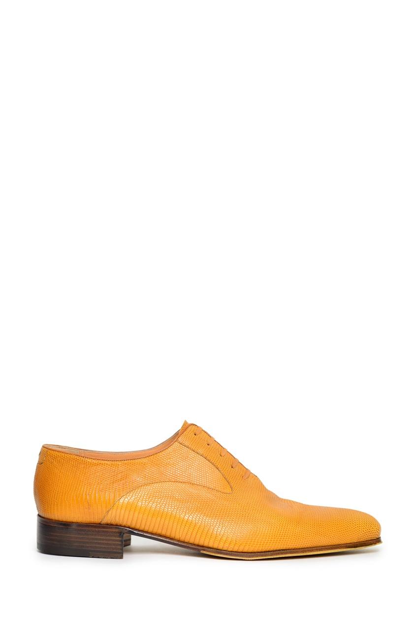 мужские туфли artioli, желтые