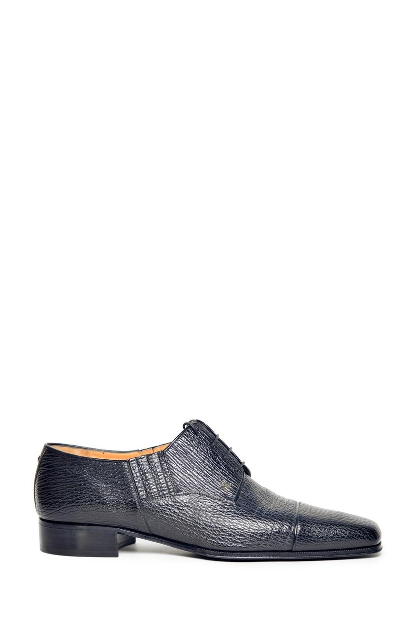 Черные туфли из кожи акулы Artioli 1674152425 черный фото