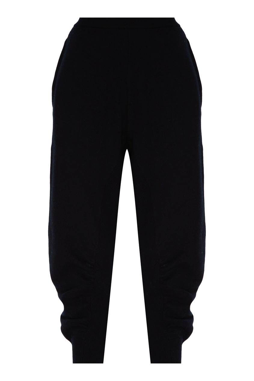 женские брюки stella mccartney, черные
