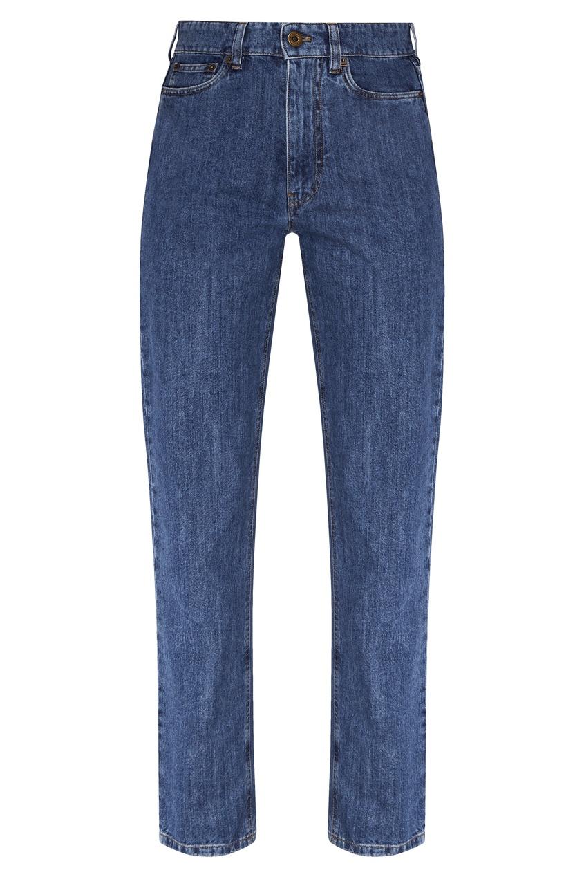 Синие джинсы из денима от Miu Miu