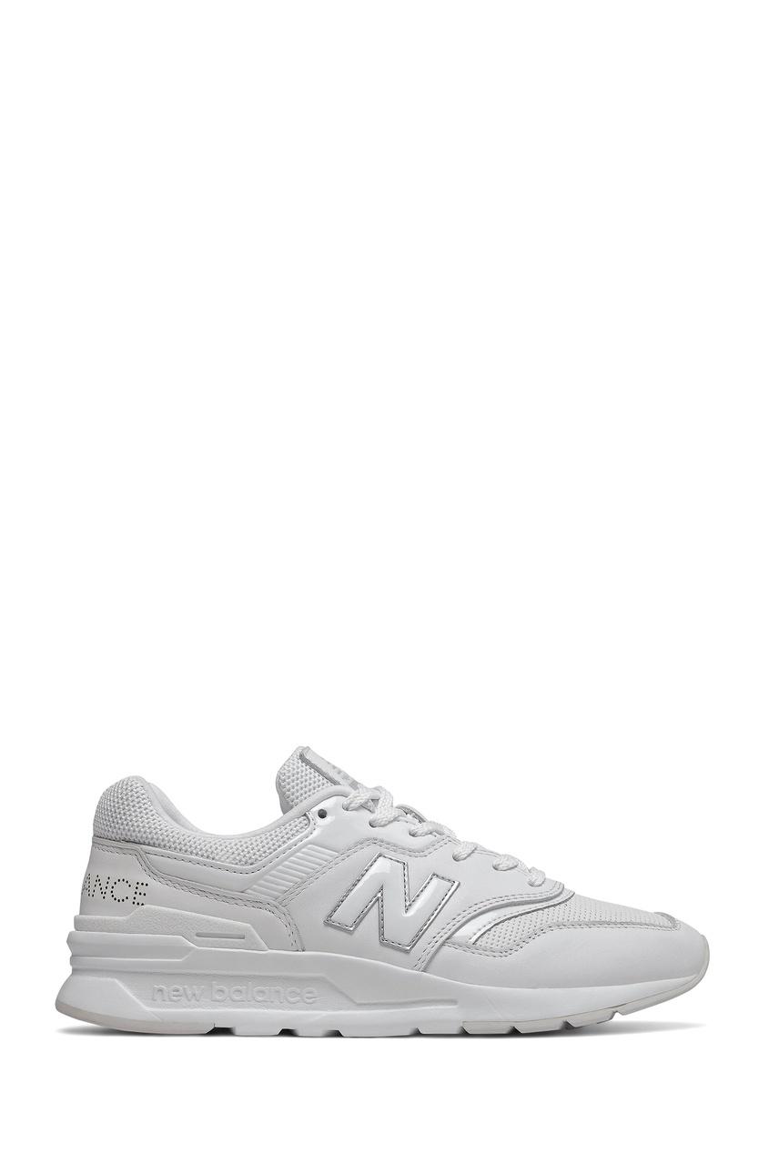 Белые кроссовки с логотипом New balance
