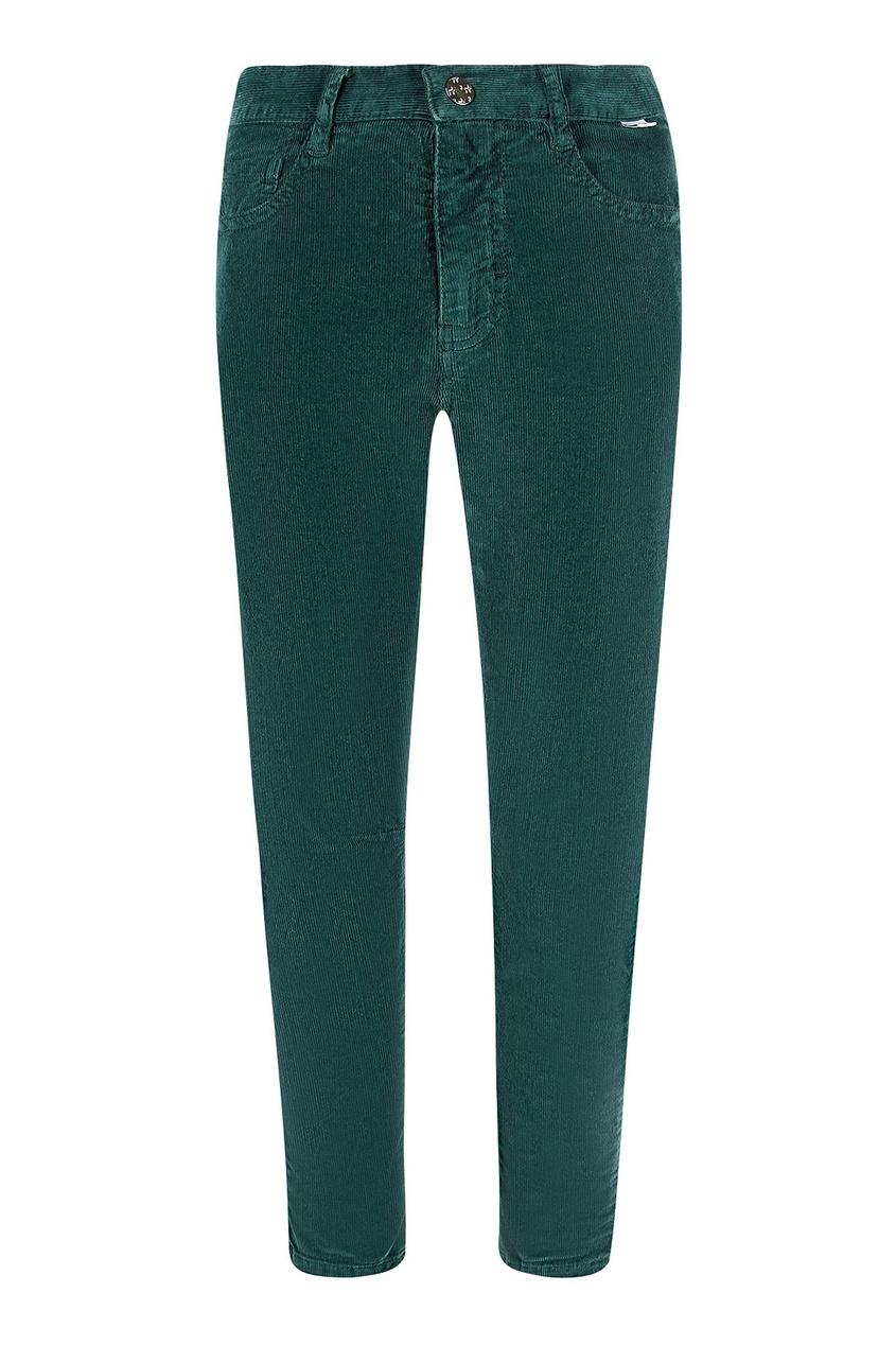 Зауженные вельветовые брюки IL Gufo