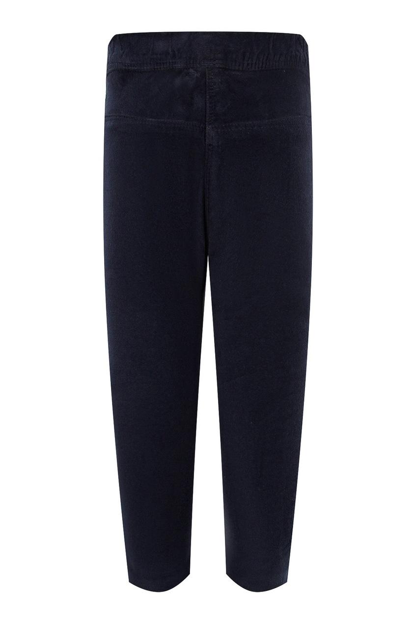 Прямые темно-синие брюки от Il Gufo