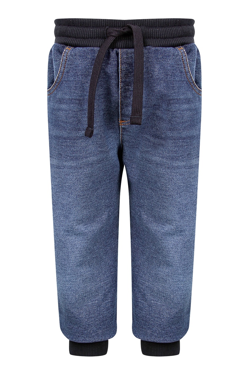 Свободные джинсы на резинке Dolce&Gabbana Children