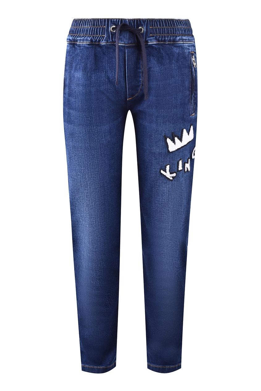 Подростковые джинсы на резинке Dolce&Gabbana Children