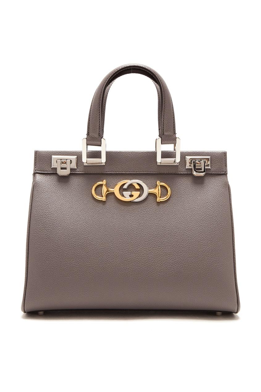 женская сумка gucci, серая