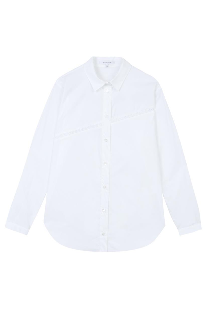 Хлопковая рубашка от AIZEL
