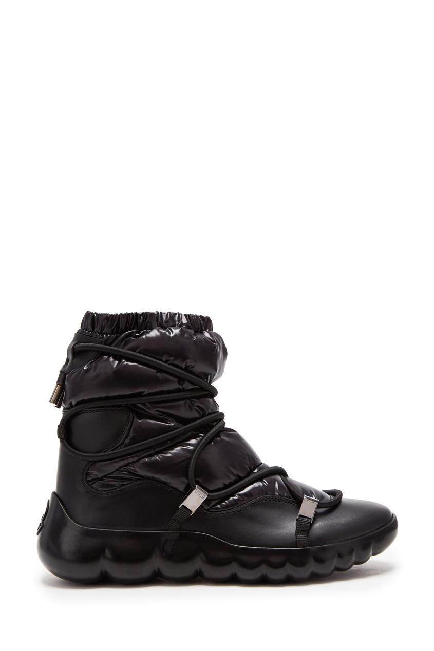 Черные луноходы Cara от Moncler