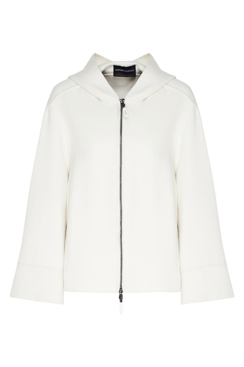 Легкая куртка из кашемира от Emporio Armani