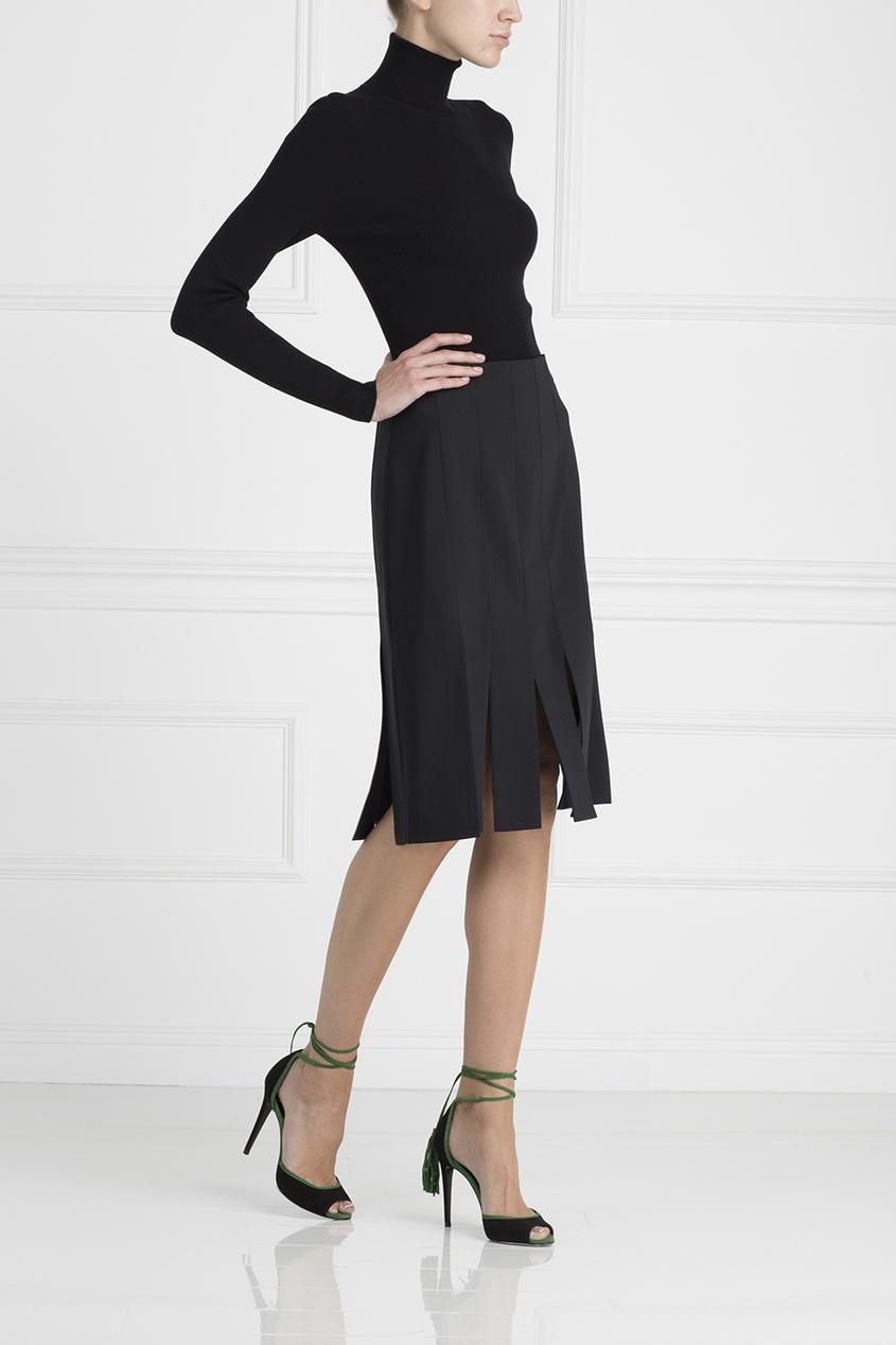 Tibi Однотонная юбка