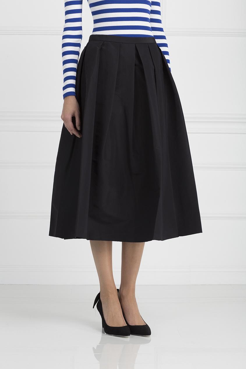Tibi Шелковая юбка